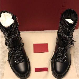 Original Valentino combat boots